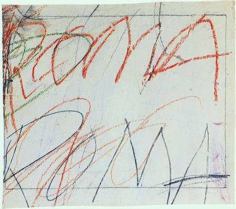 Artwork Drawings Cy Twombly Foundation