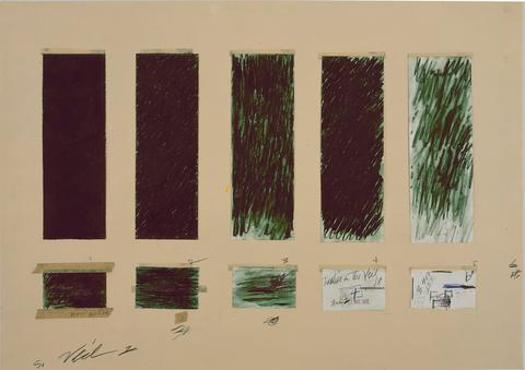 Study for Treatise on the Veil, 1970