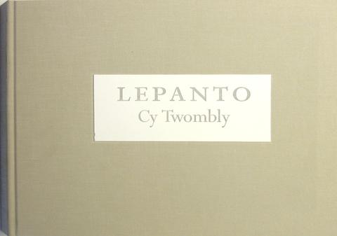 Cy Twombly. Lepanto